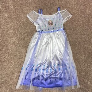 Disney frozen 2 Elsa fantasy nightgown
